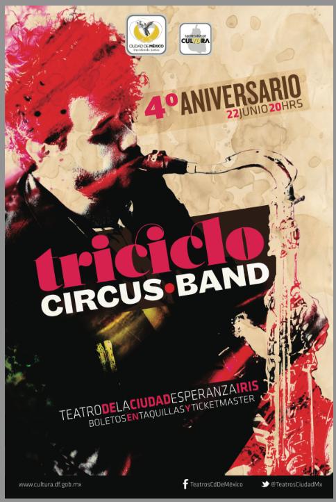 Triciclo Circus Band Teatro de la Ciudad Esperanza
