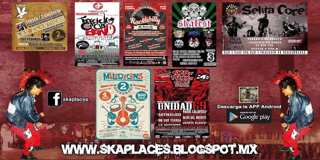 Cartelera Final de Ska Places Viernes•••Sabado•••Domingo de