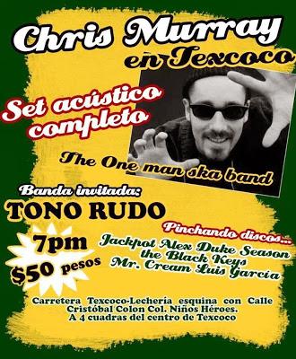 Chris Murray En Texcoco Tocando Set Acustico Viernes 29 De