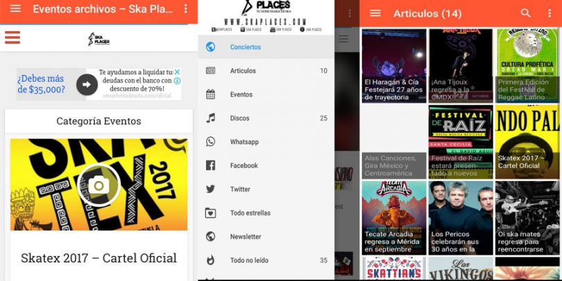 ska places android app
