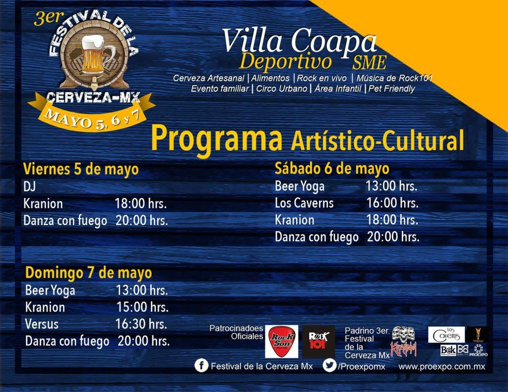 Programa artístico