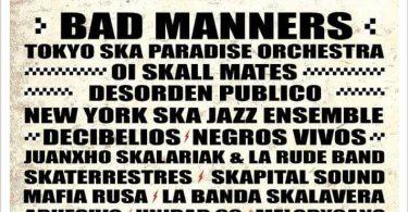 Non Stop Ska 2017 - cartel oficial
