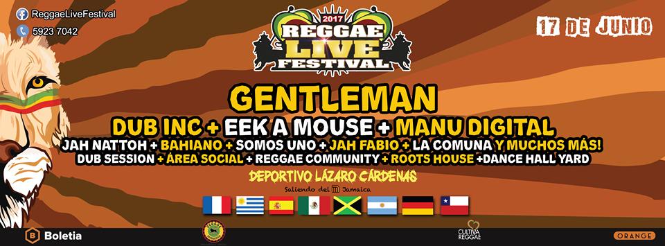 Reggae Live Festival 2017