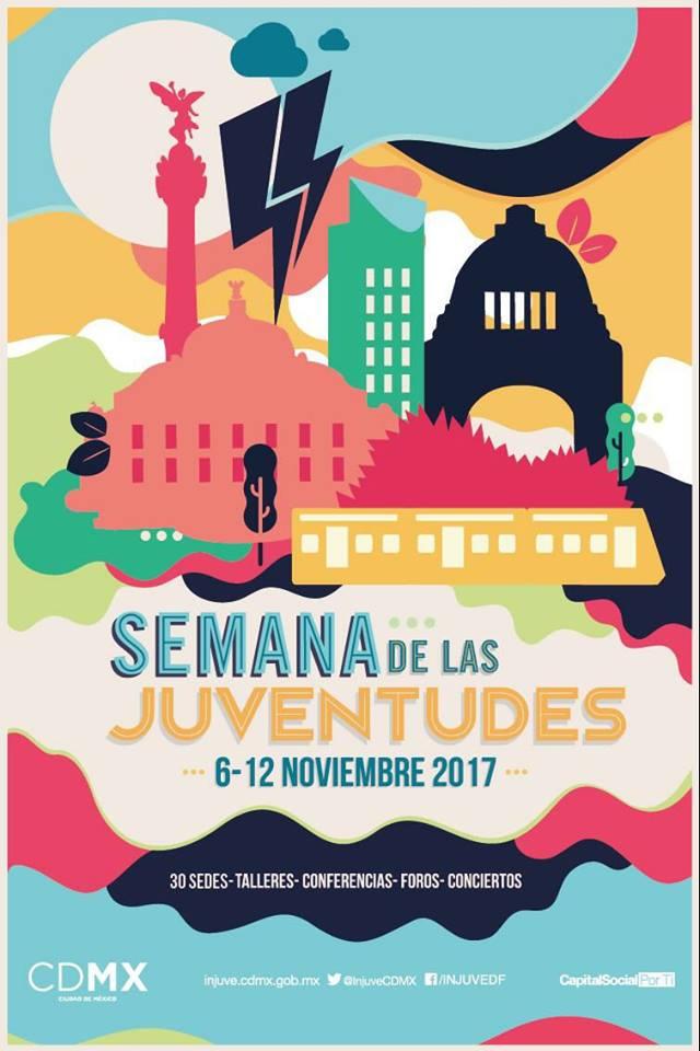 Semana de las juventudes 2017 - Primer cartel