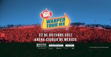 Vans Warped Tour Mexico Noviembre 2017
