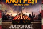 KNOT FEST MEXICO 2017 - ANUNCIO