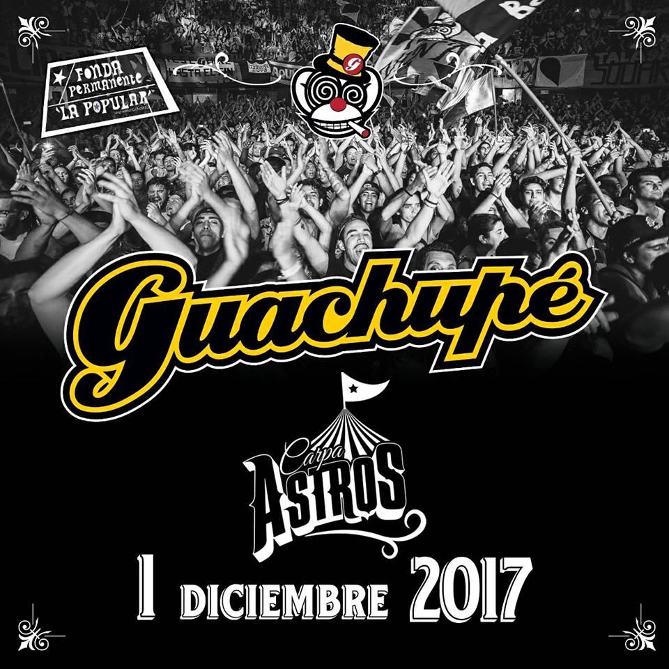 Guachupe en Carpa Astros