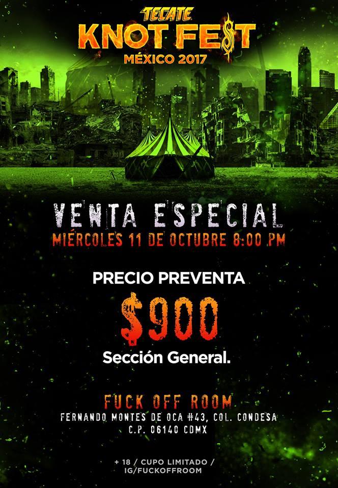 Tecate Knotfest México 2017 dio