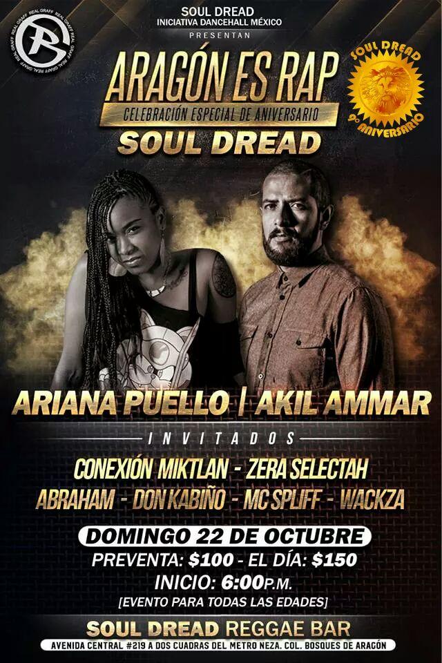 oul Dread - Akil Ammar y Ariana Puello