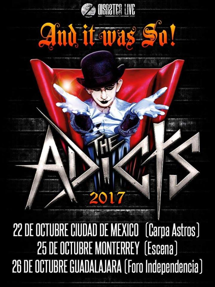 the adicts gira mexico 2017