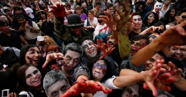 zombi walk cdmx