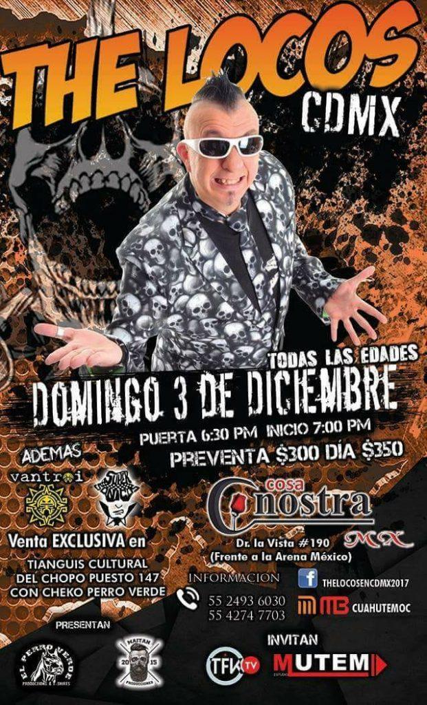 the locos cdmx 2017