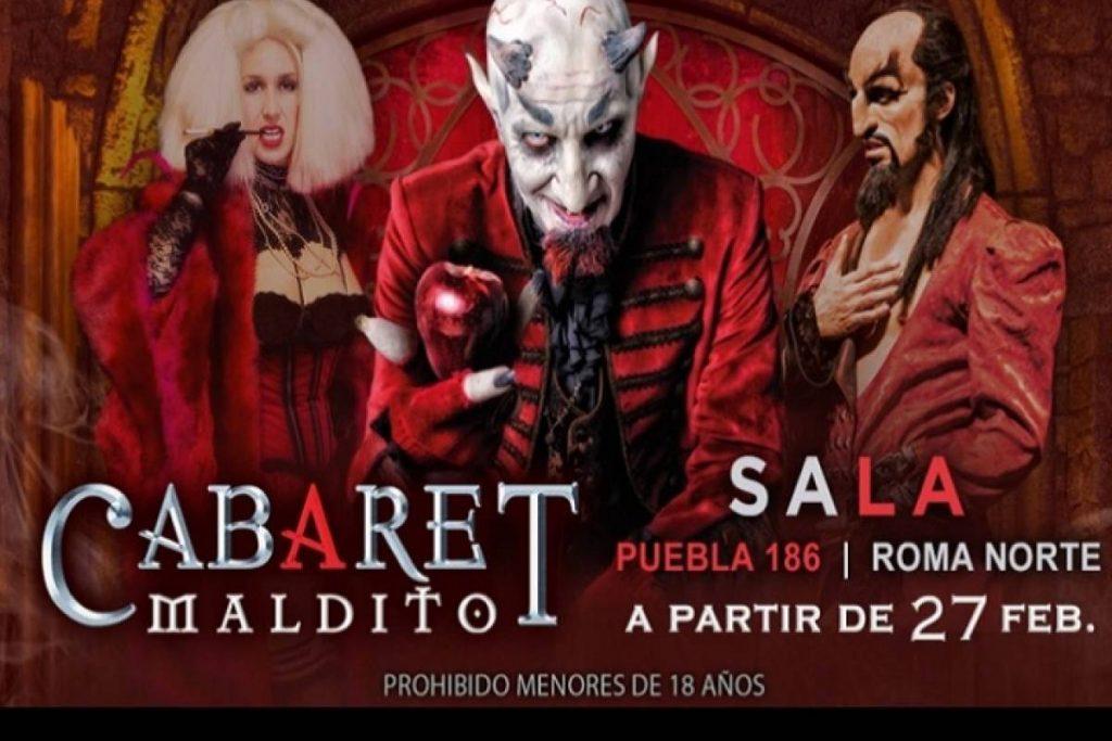 Cartelera Cabaret-Maldito