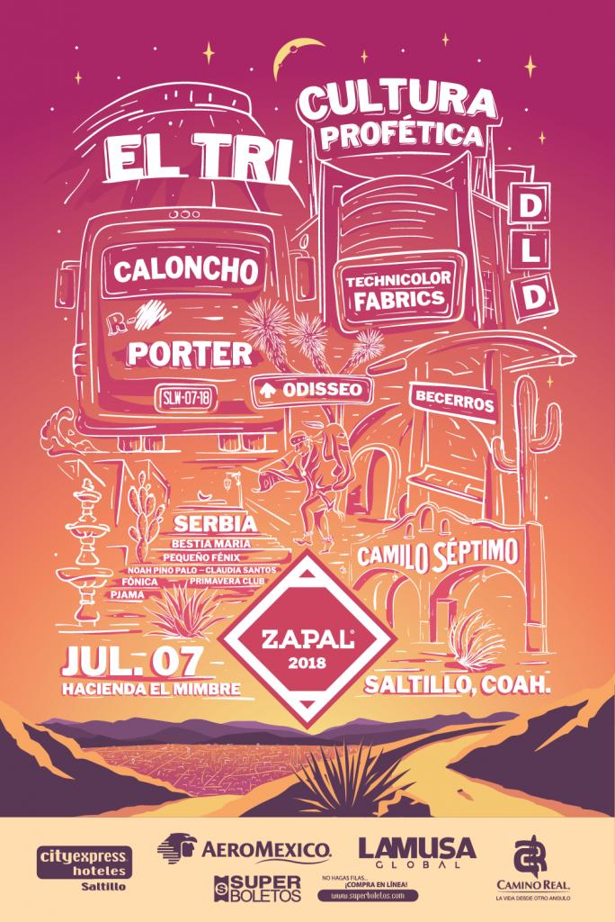 Festival Zapal cartel