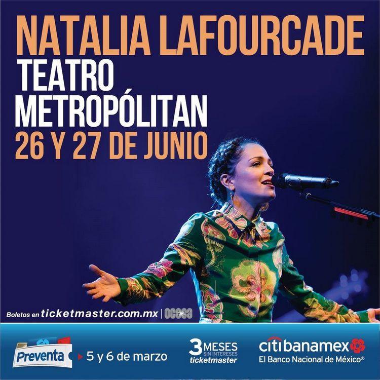 natalia lafourcade en teatro metropolitan