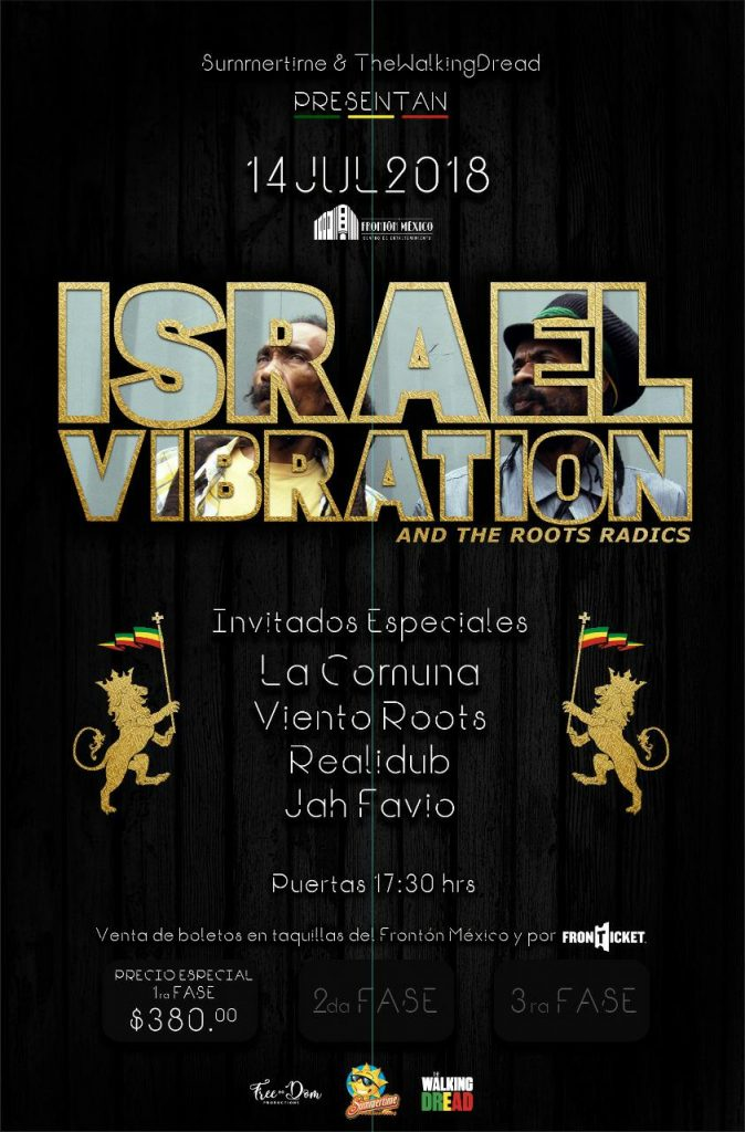 Cartel Israel Vibration