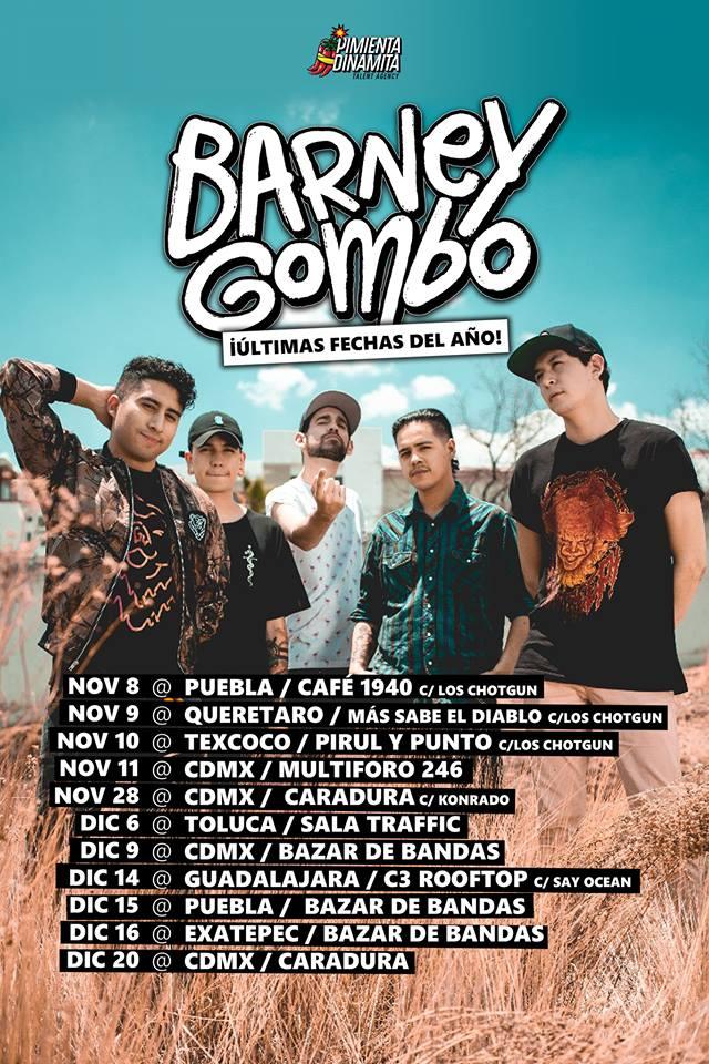 Barney Gombo Tour