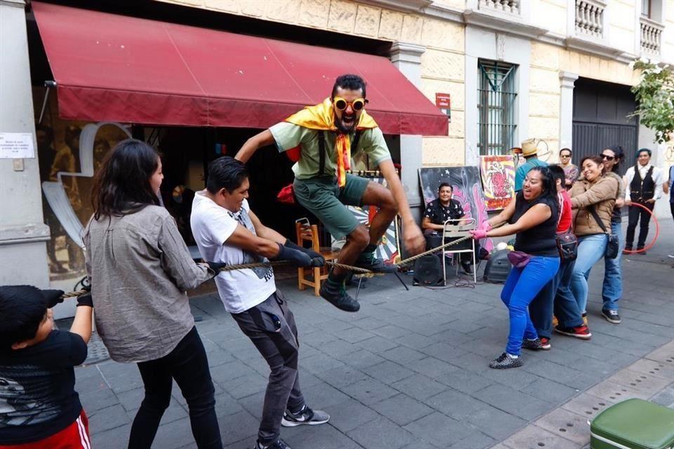 Festival del Arte Callejero y Circense OZOMATLI