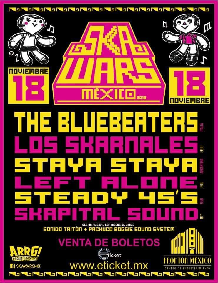 ska wards ciudad de mexico 2018